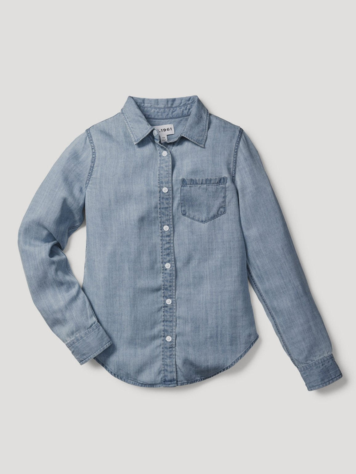 Olivia Shirt | Mid Wash