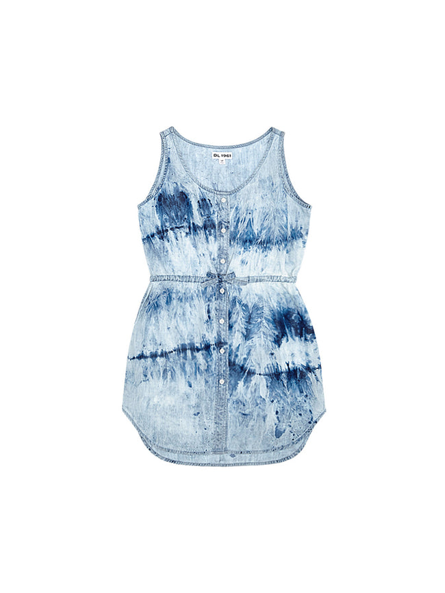 Charlie Tank Dress Tie Dye