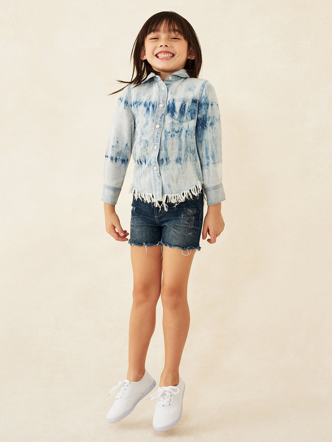 Lucy Toddler Short | Liberty DL 1961 Denim