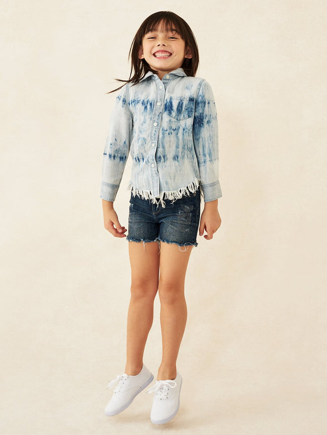 Olivia Toddler Shirt Tie Dye