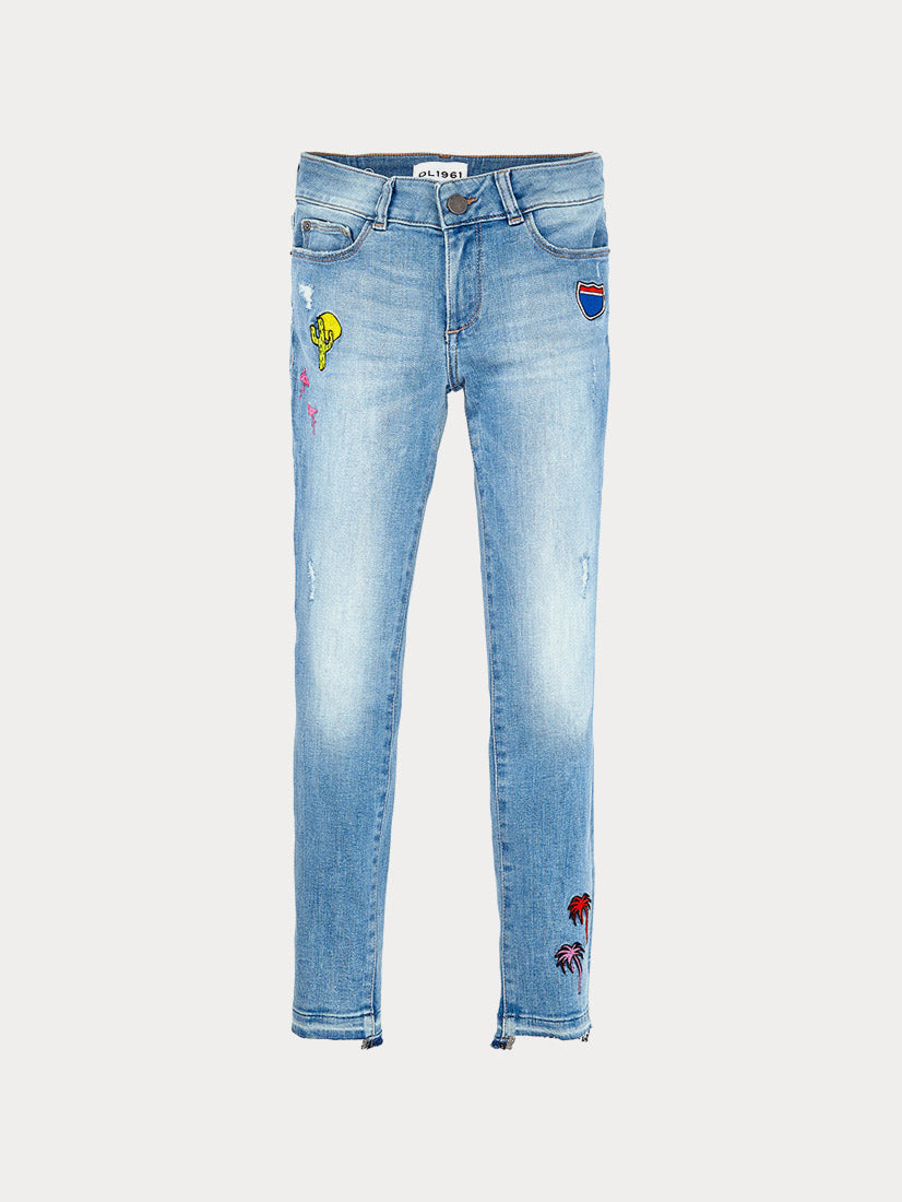 Chloe Toddler | Palm Springs DL 1961 Denim