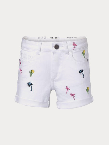 Toddler Girls - Piper Toddler Cuffed Short | Palm Desert - DL1961