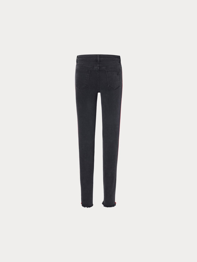 Toddler Girls - Chloe Toddler Skinny | Pop Black - DL1961