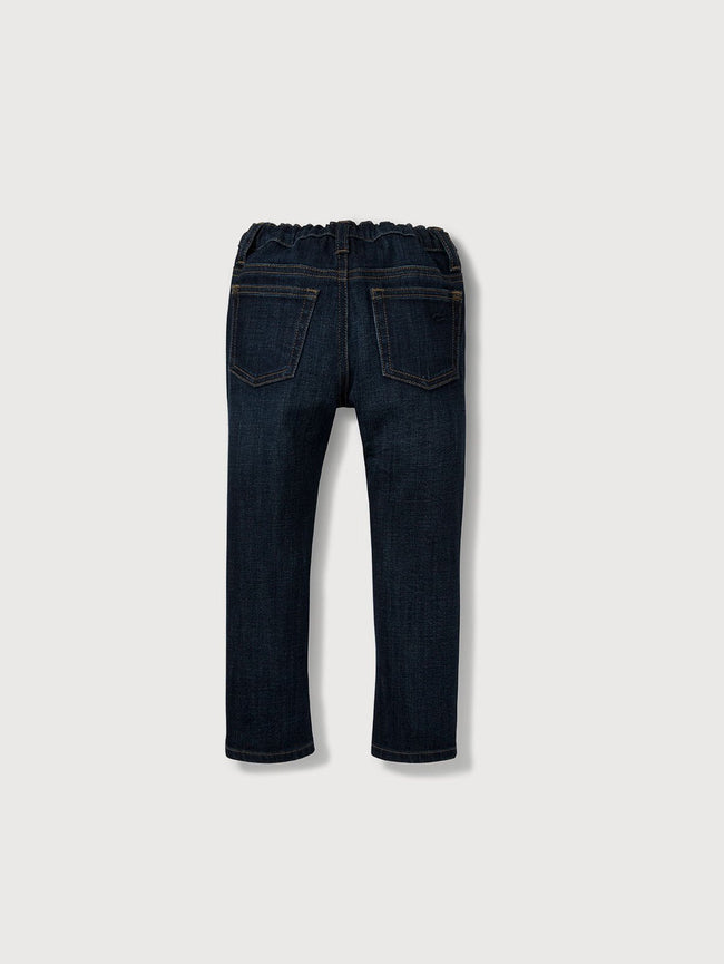 Infant Boys - Infant Dark Blue Denim - Toby Infant Slim Ferret - DL1961