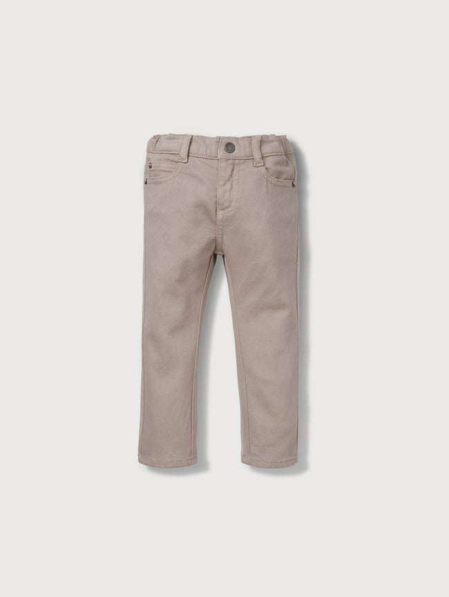 Infant Boys - Infant Light Khaki - Toby Infant Slim Birch - DL1961