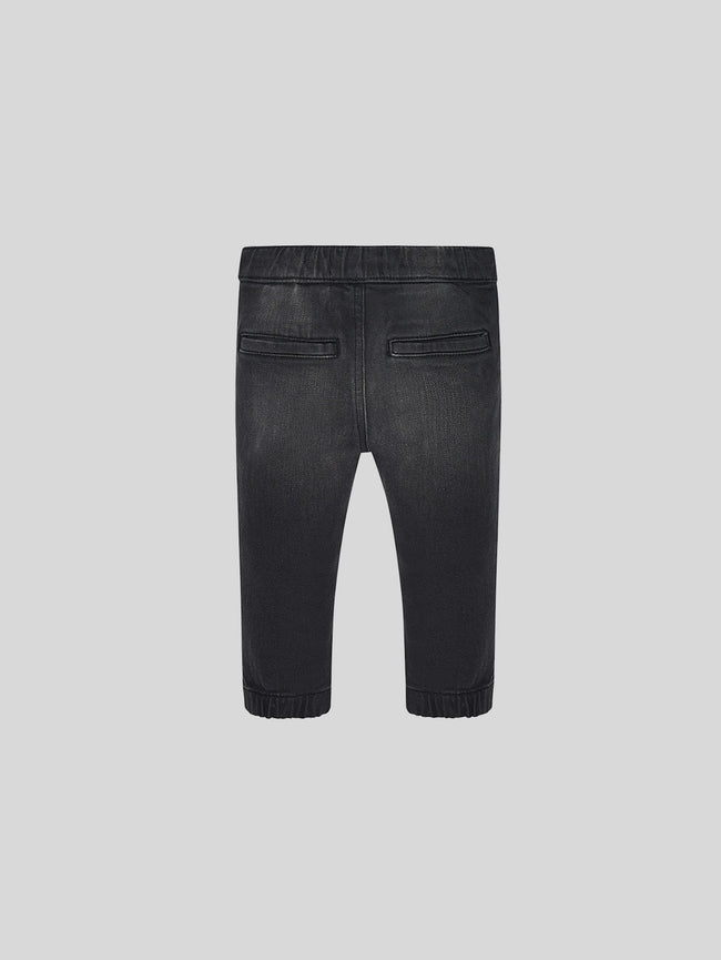 Infant Boys - Faded Black Jogger - Joey Jogger Fuse - DL1961