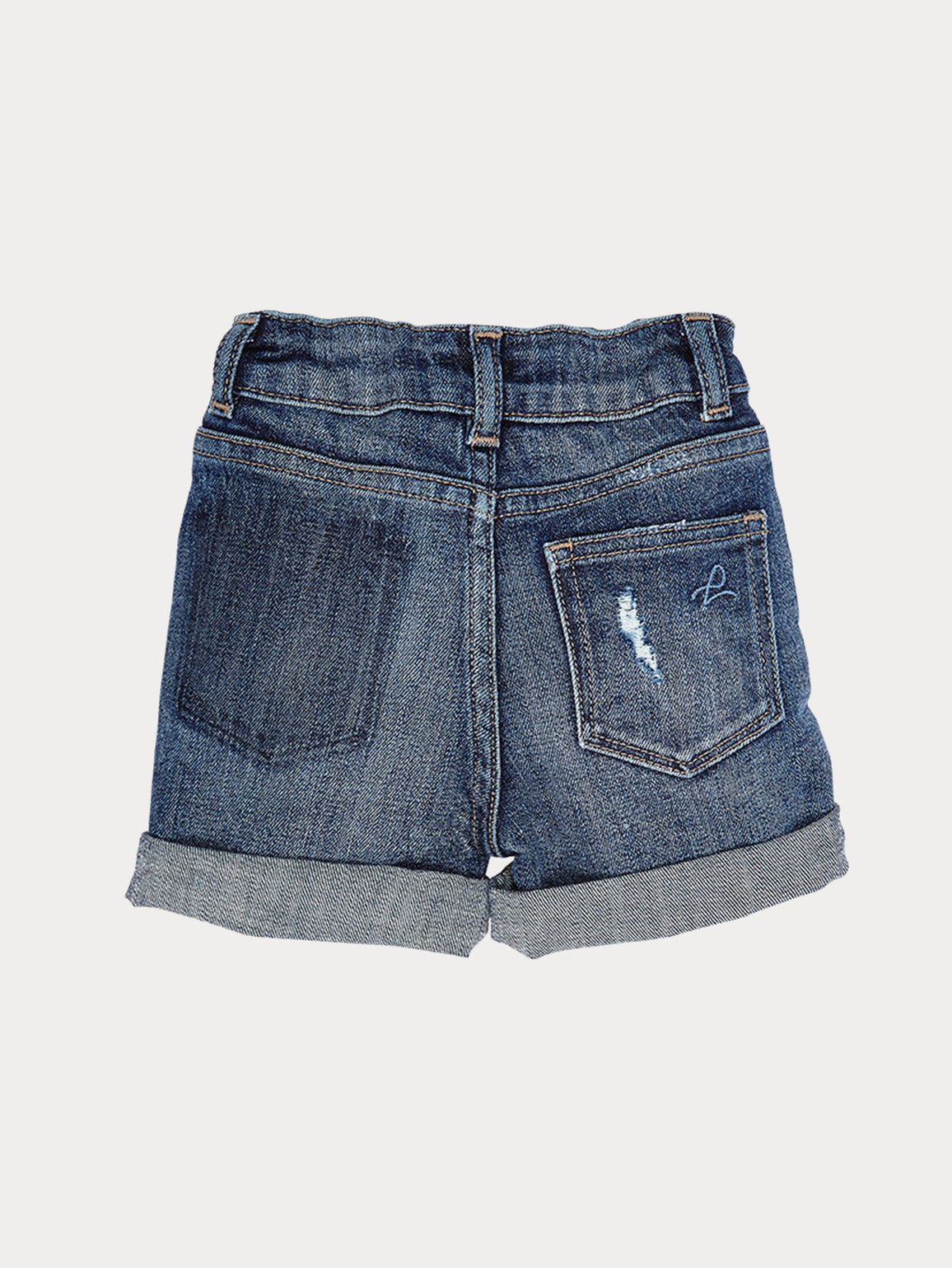 Infant Girls - Infant Cuffed Denim Shorts - Kaley Infant Short Liberty - DL1961
