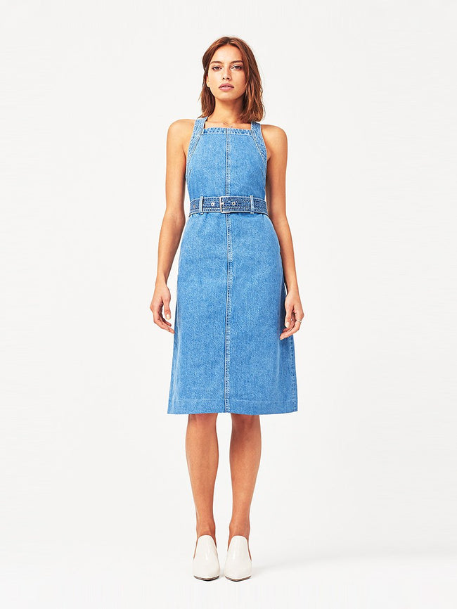 Roxanne Belted Midi Dress | Chapel DL 1961 Denim