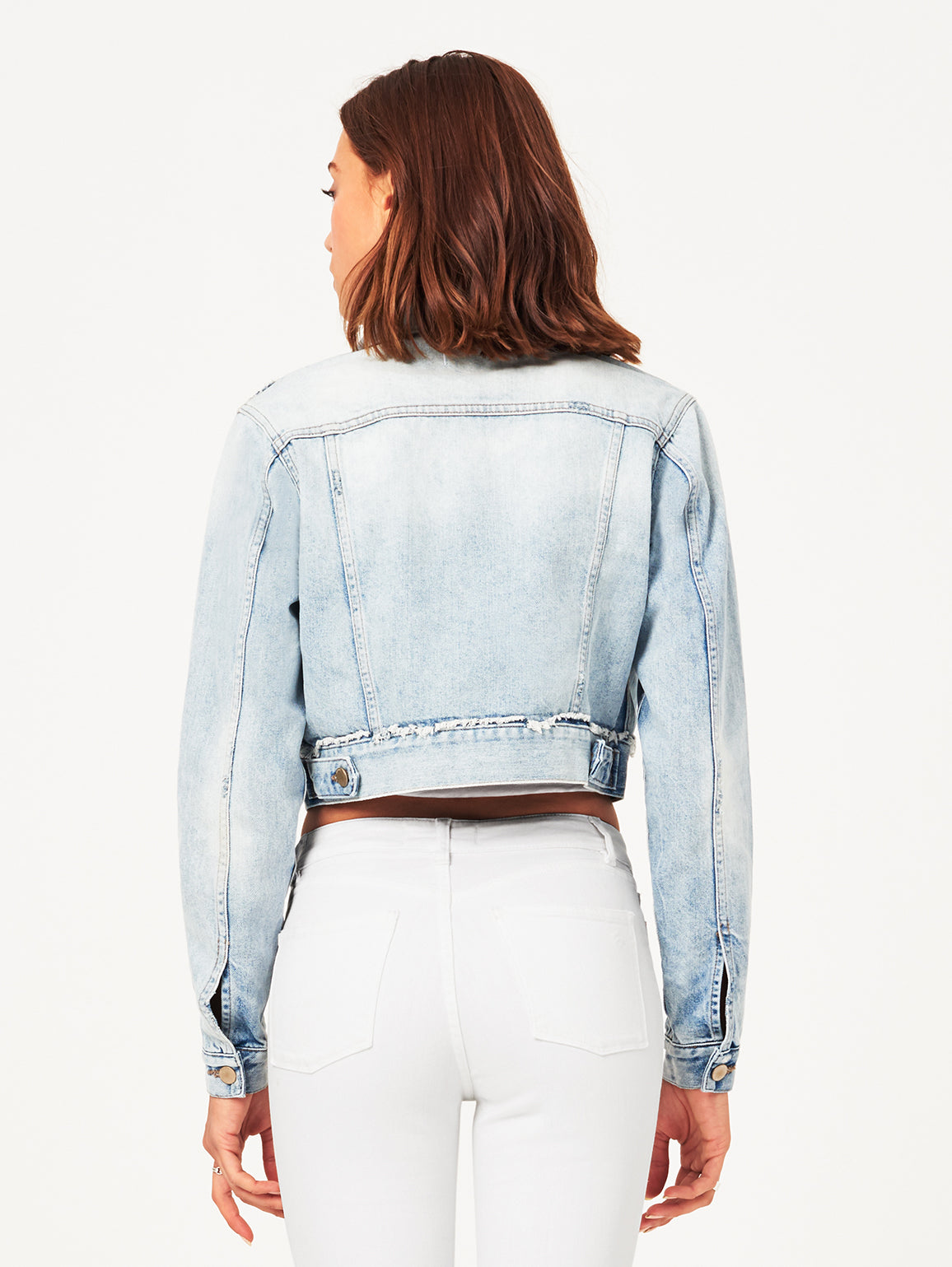 Shawn Cropped Boyfriend Jacket | Graceland DL 1961 Denim
