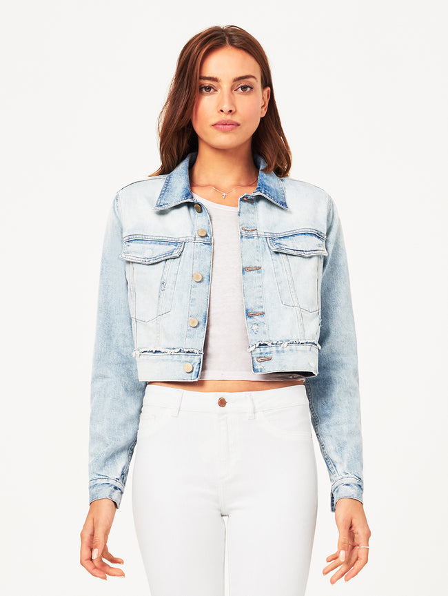 Shawn Cropped Boyfriend Jacket | Graceland