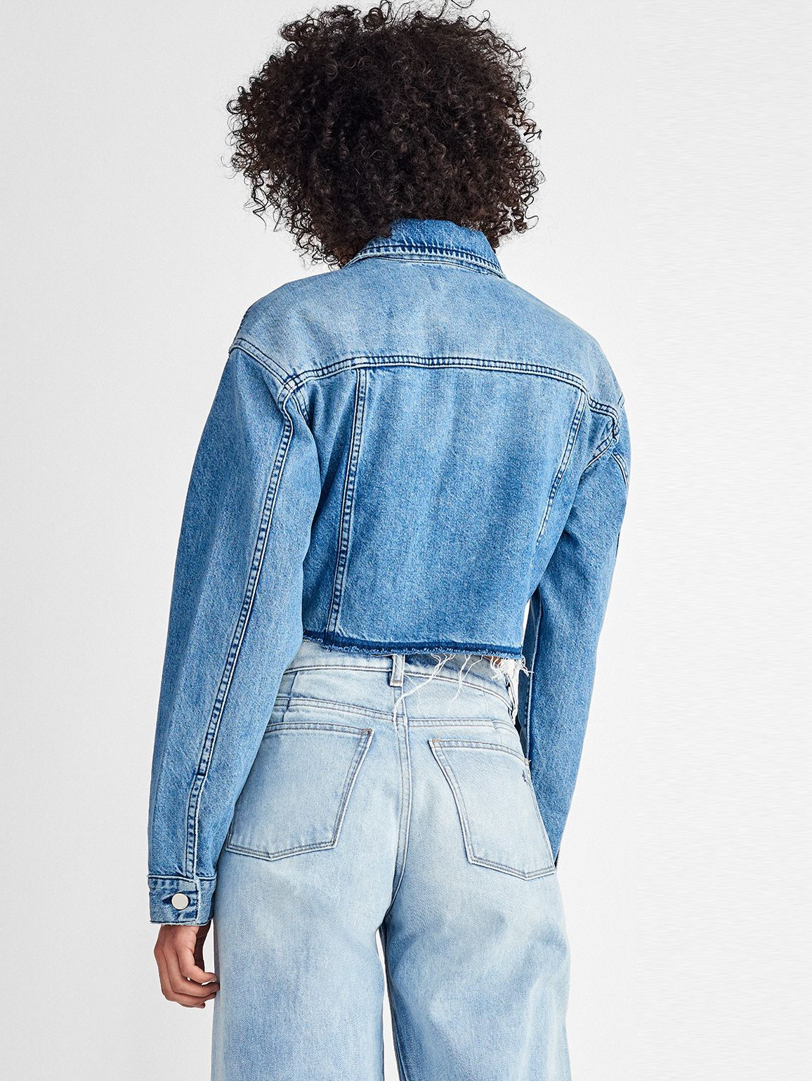 Women Jacket - Annie Cropped Jacket | Juno - DL1961