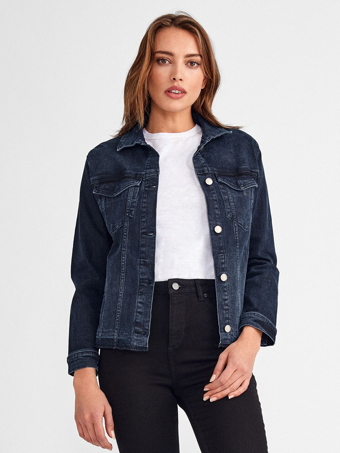 Jane Fitted Trucker Jacket | Nelson