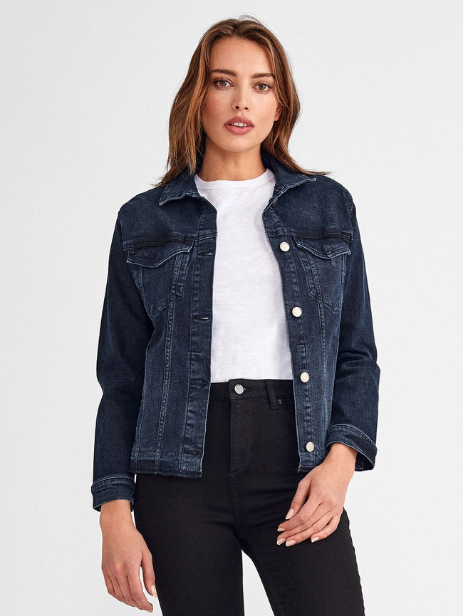 Jacket - Jane Fitted Trucker Jacket | Nelson - DL1961