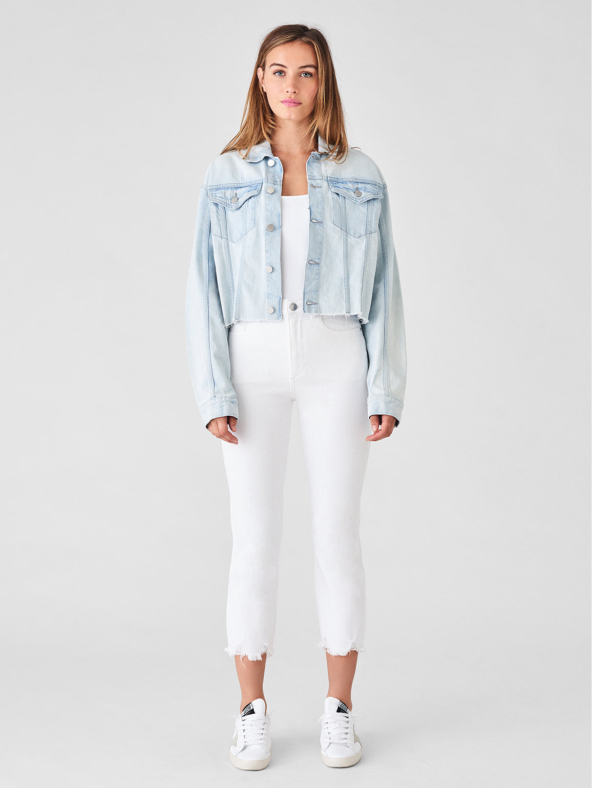 Annie Cropped Jacket | Turin - DL1961