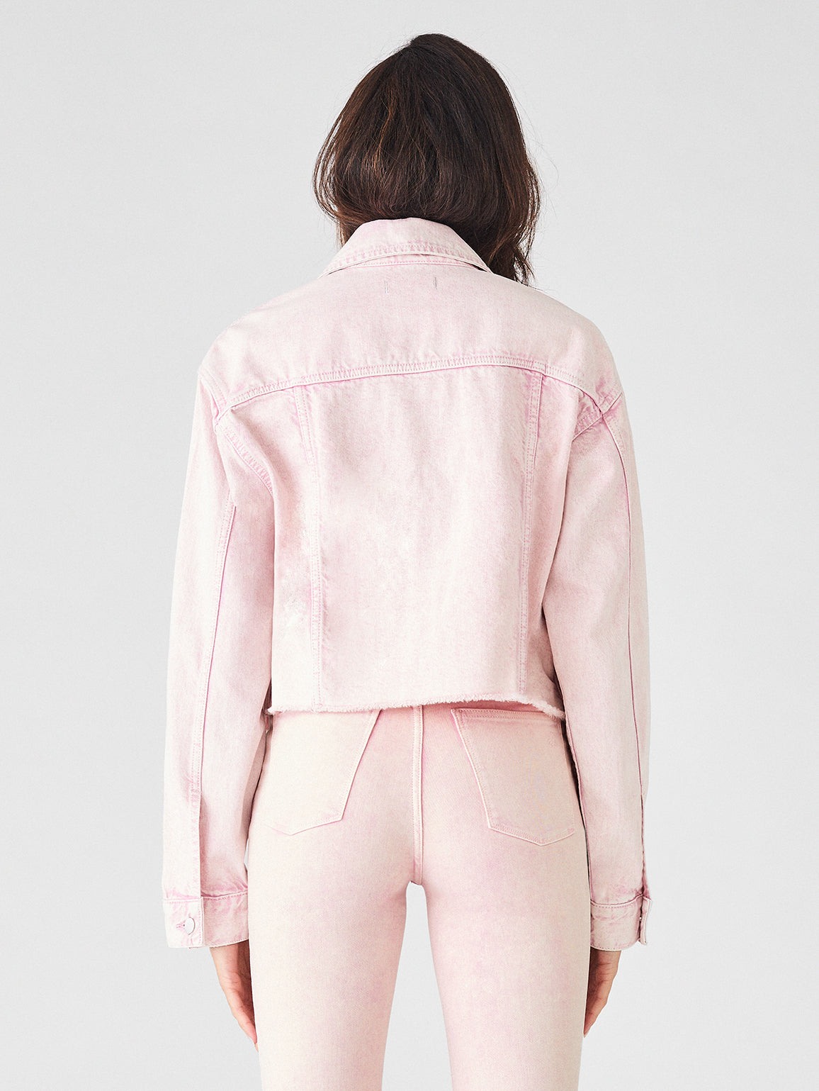 Annie Cropped Jacket | Acid Pink - DL1961