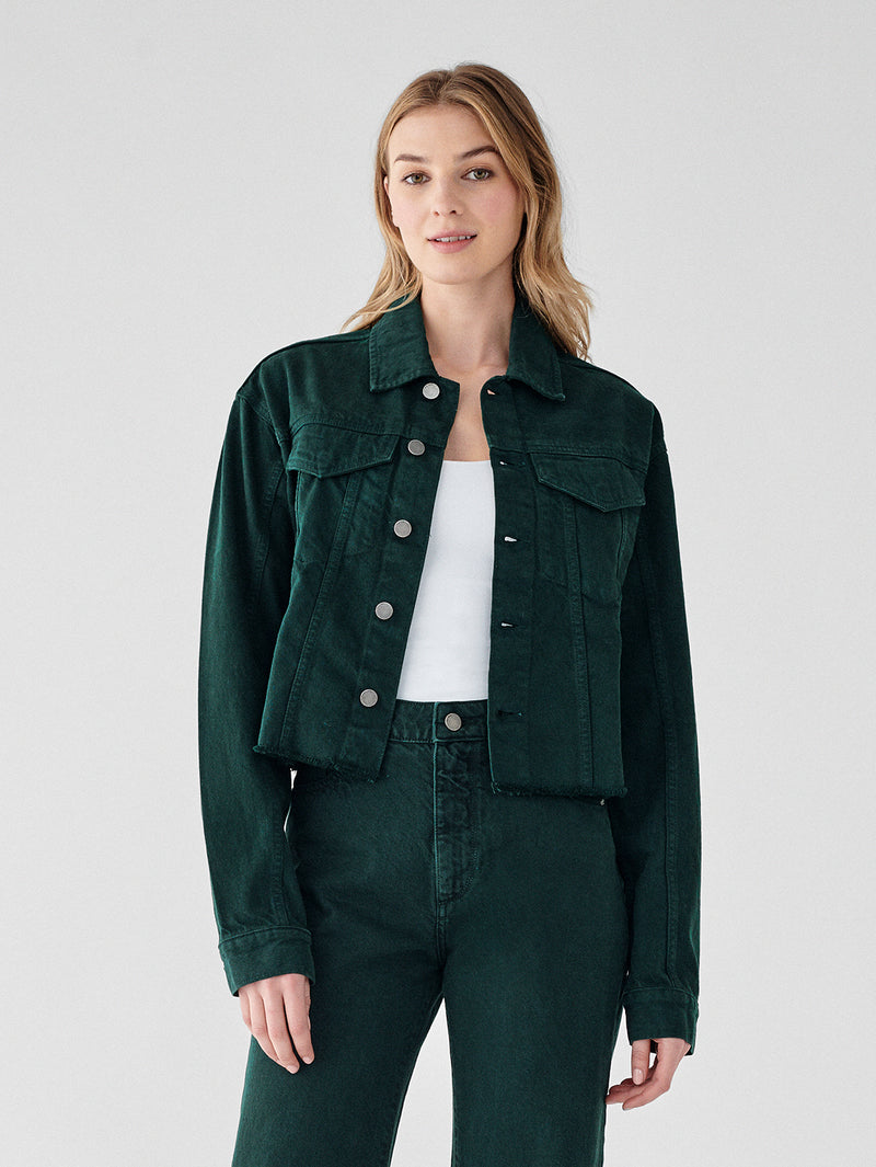 Beekman Military Jacket | Military Green