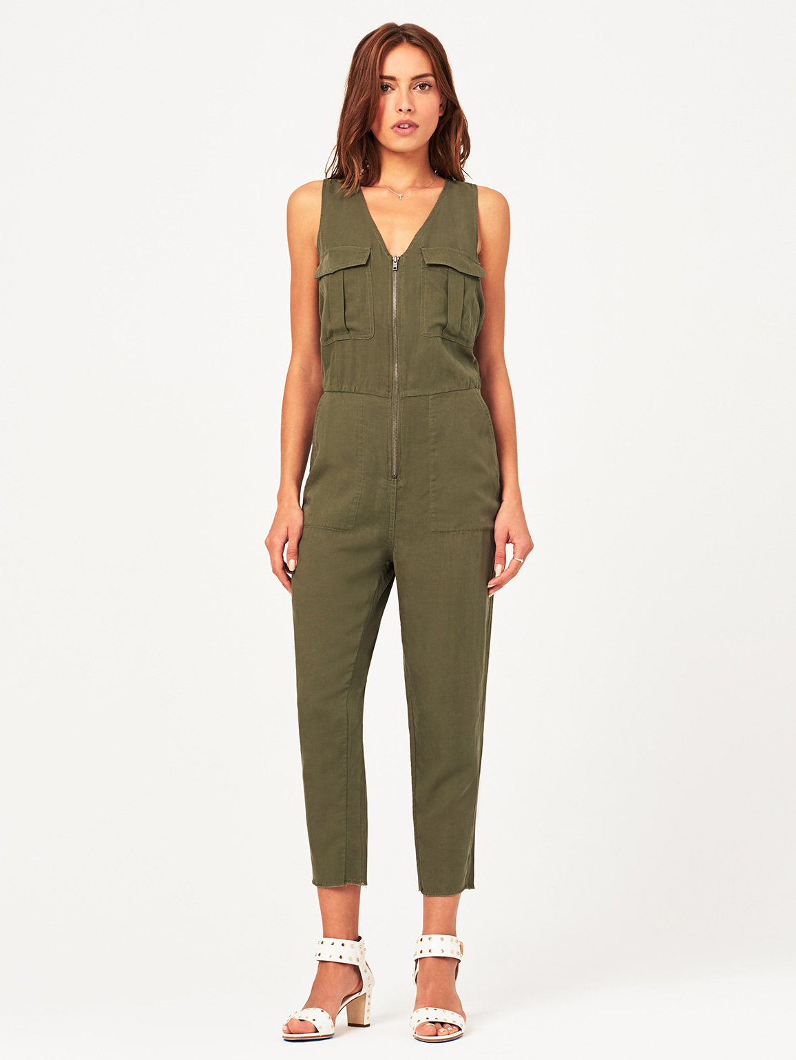 Image of Pioneer St Jumpsuit / Military Green