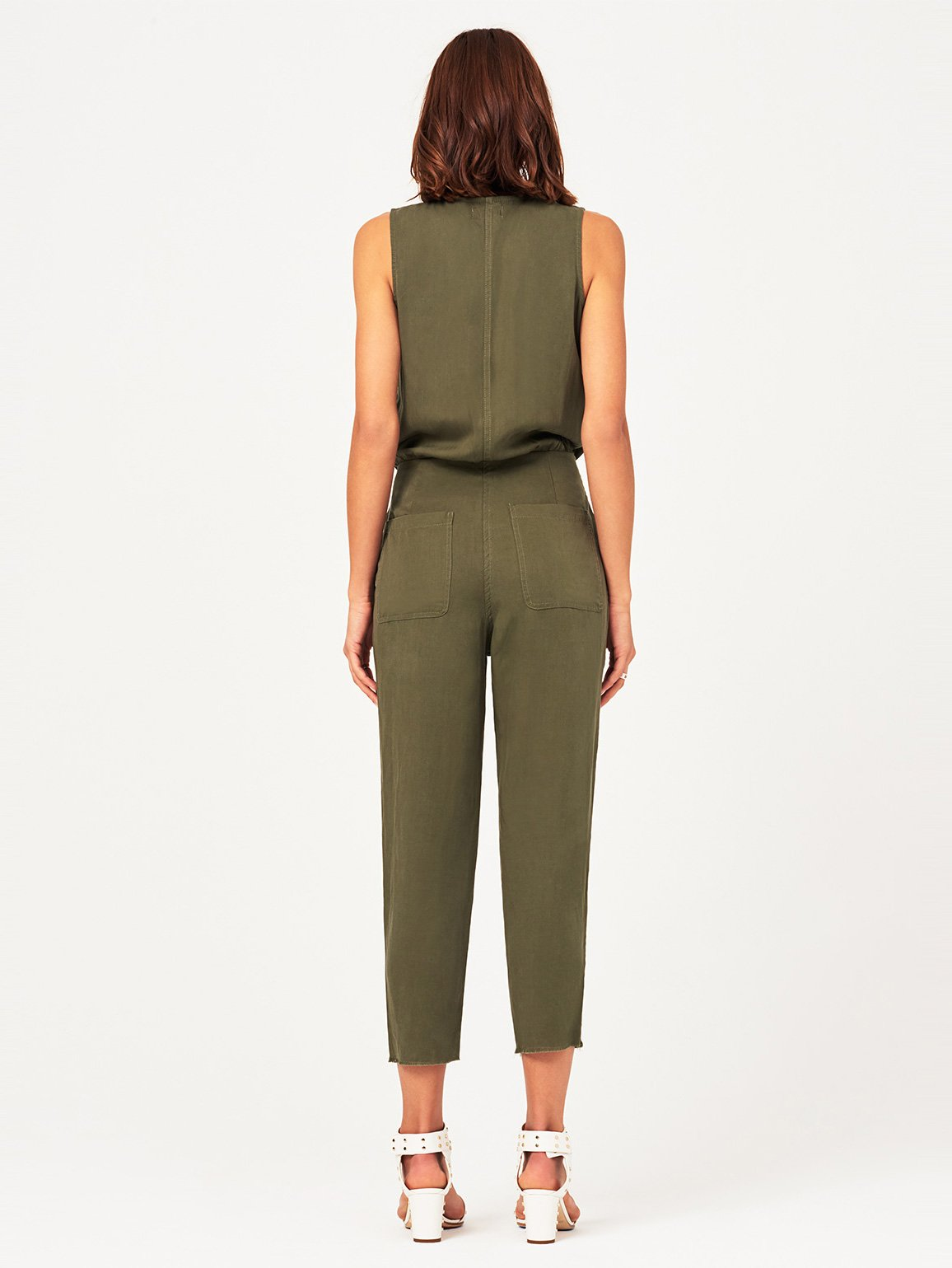 Women Overall - Pioneer ST Jumpsuit Military Green - DL1961