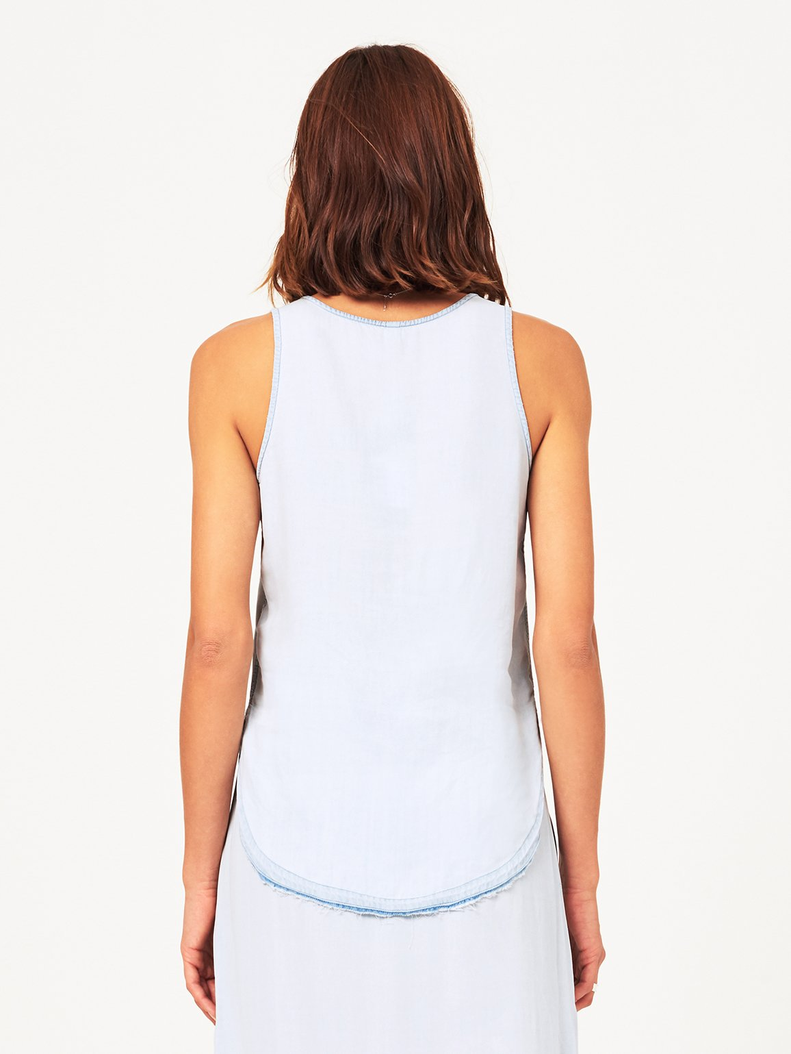 N 6th & Berry Sleeveless Tank Bleach
