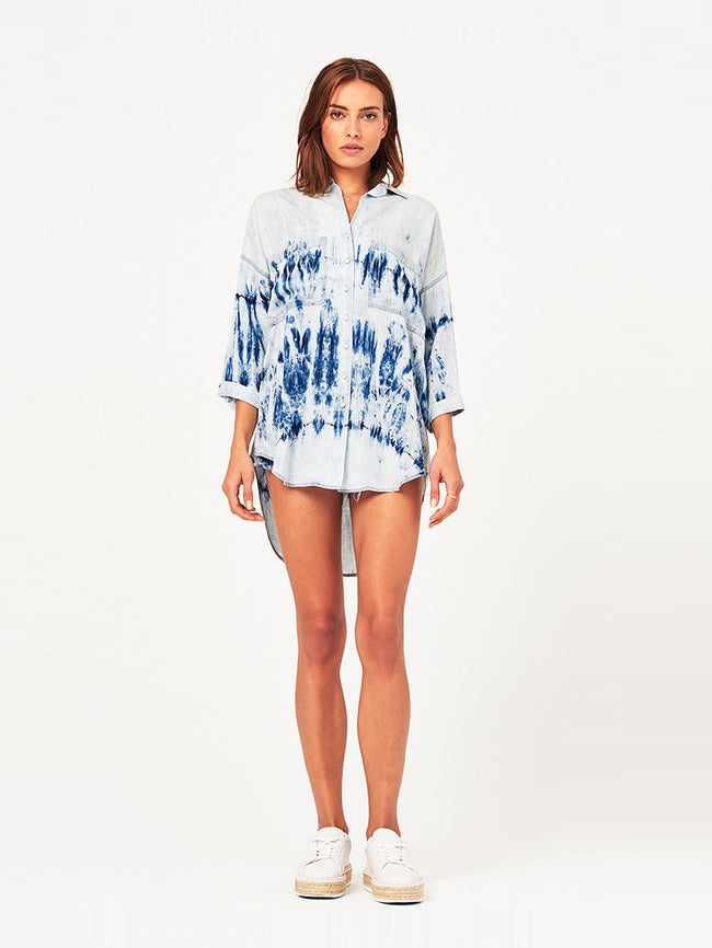 Women Top - Hester & Orchard Top | Tie Dye - DL1961