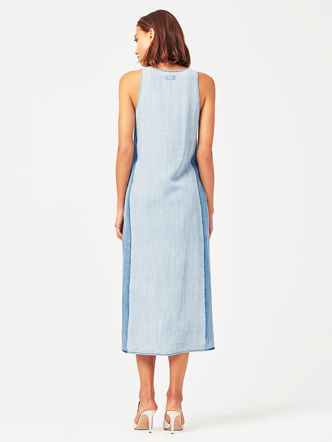 Clermont Dress Vintage Midwash | Panel DL 1961 Denim