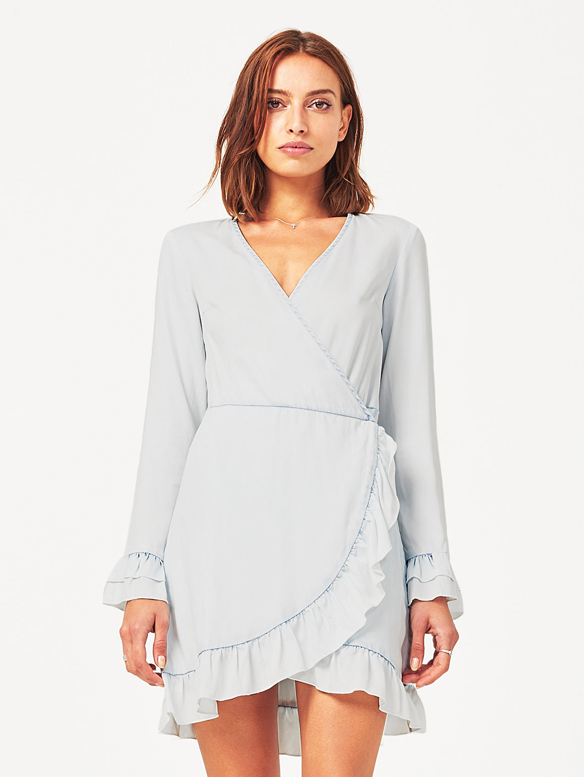 Ainsley Wrap Dress | Irregular Bleach DL 1961 Denim