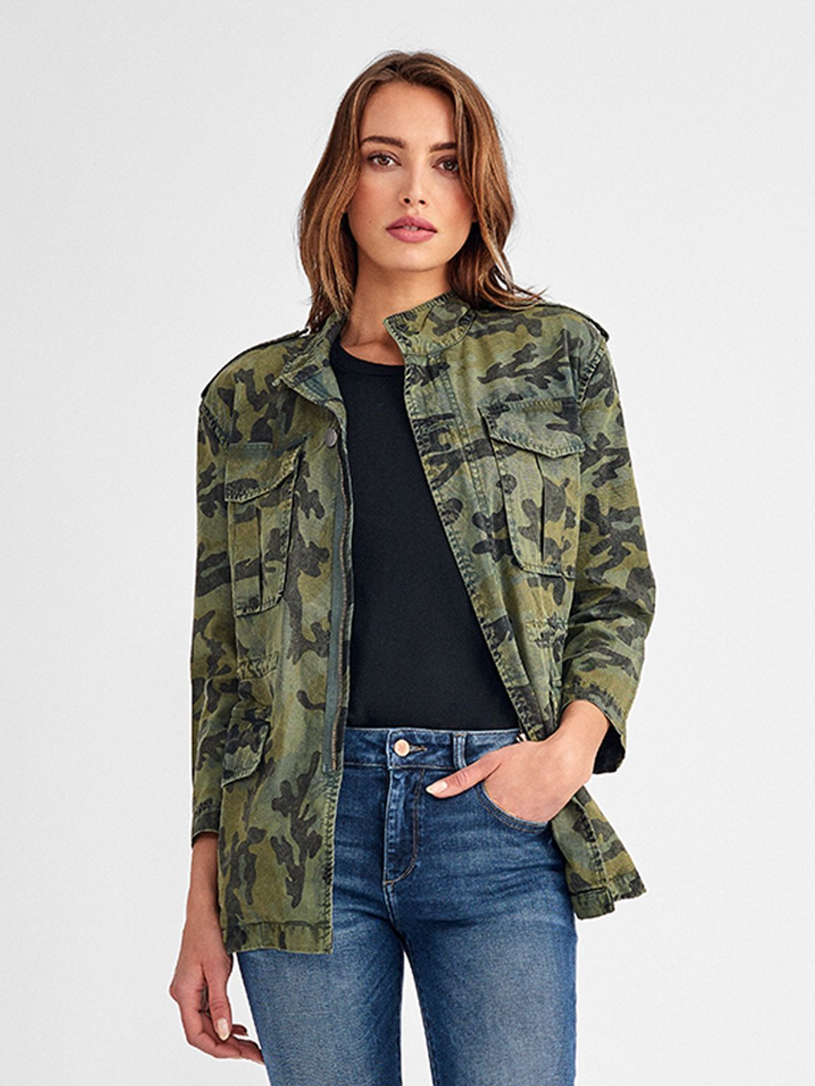 Beekman Military Jacket | Camouflage - DL1961