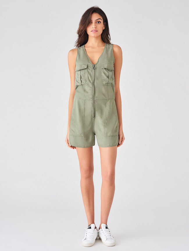 Pioneer St Romper | Sea Spray