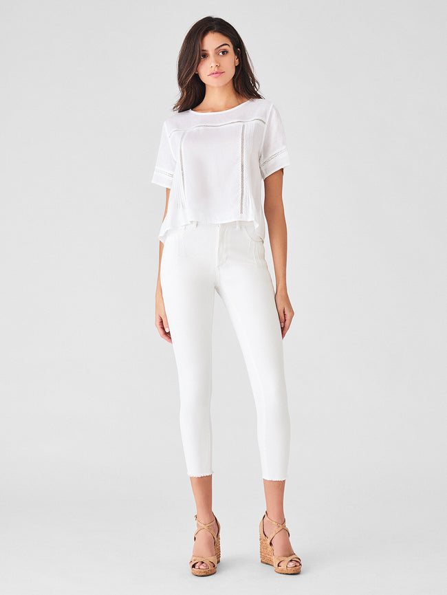 Fort Tilden Top | White