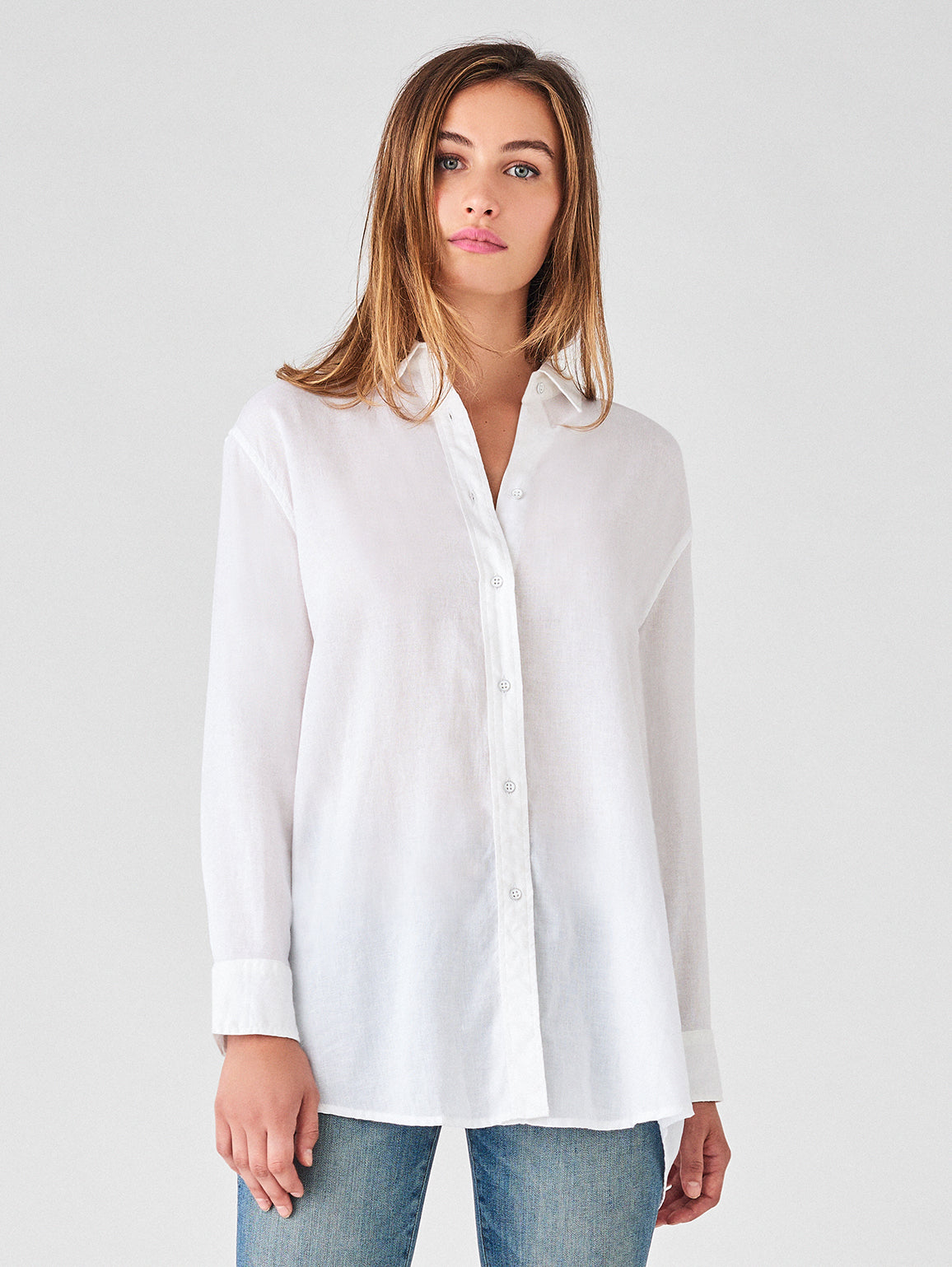 Metropolitan Ave Top | White