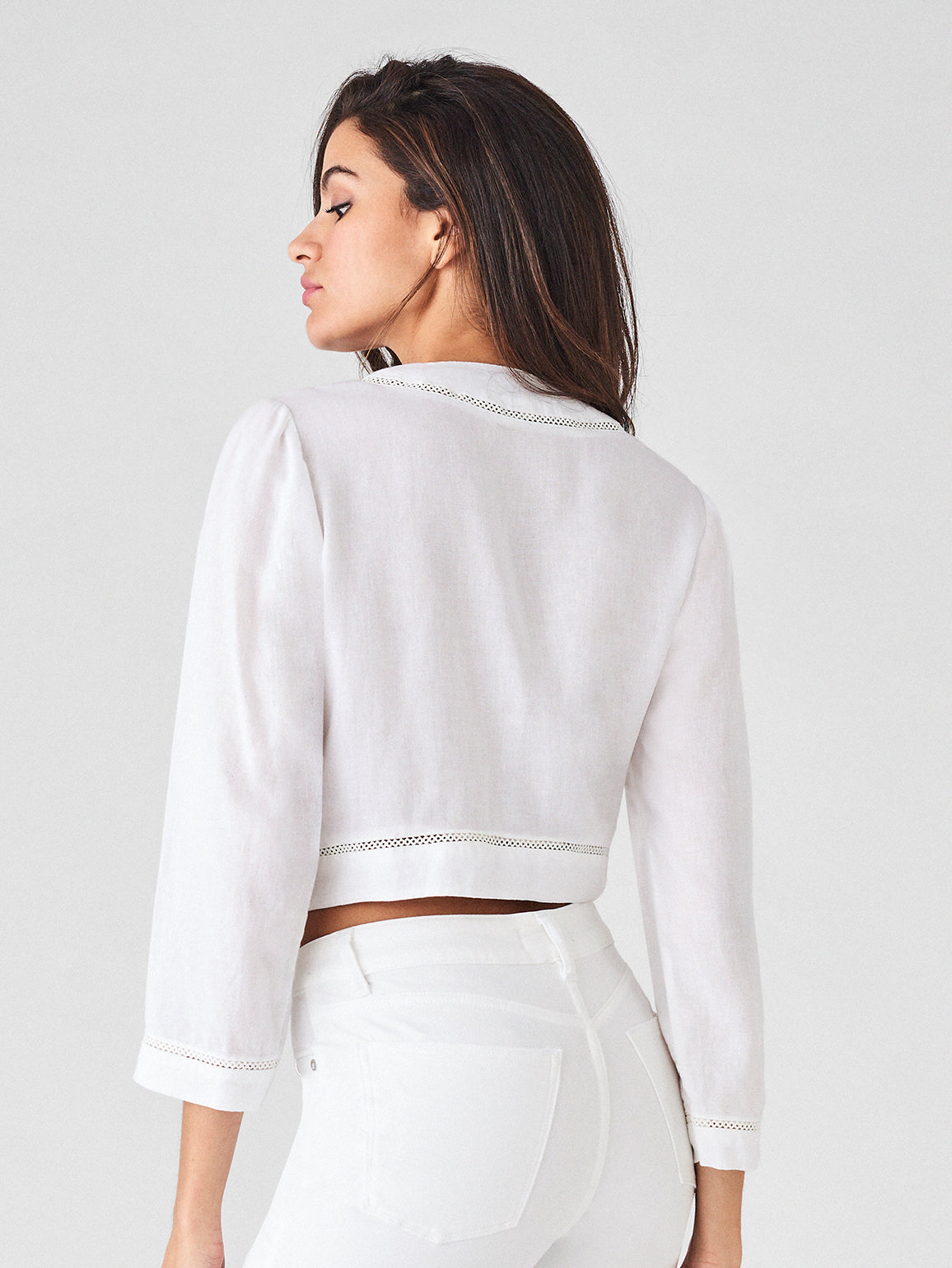 Irving Place Top | White