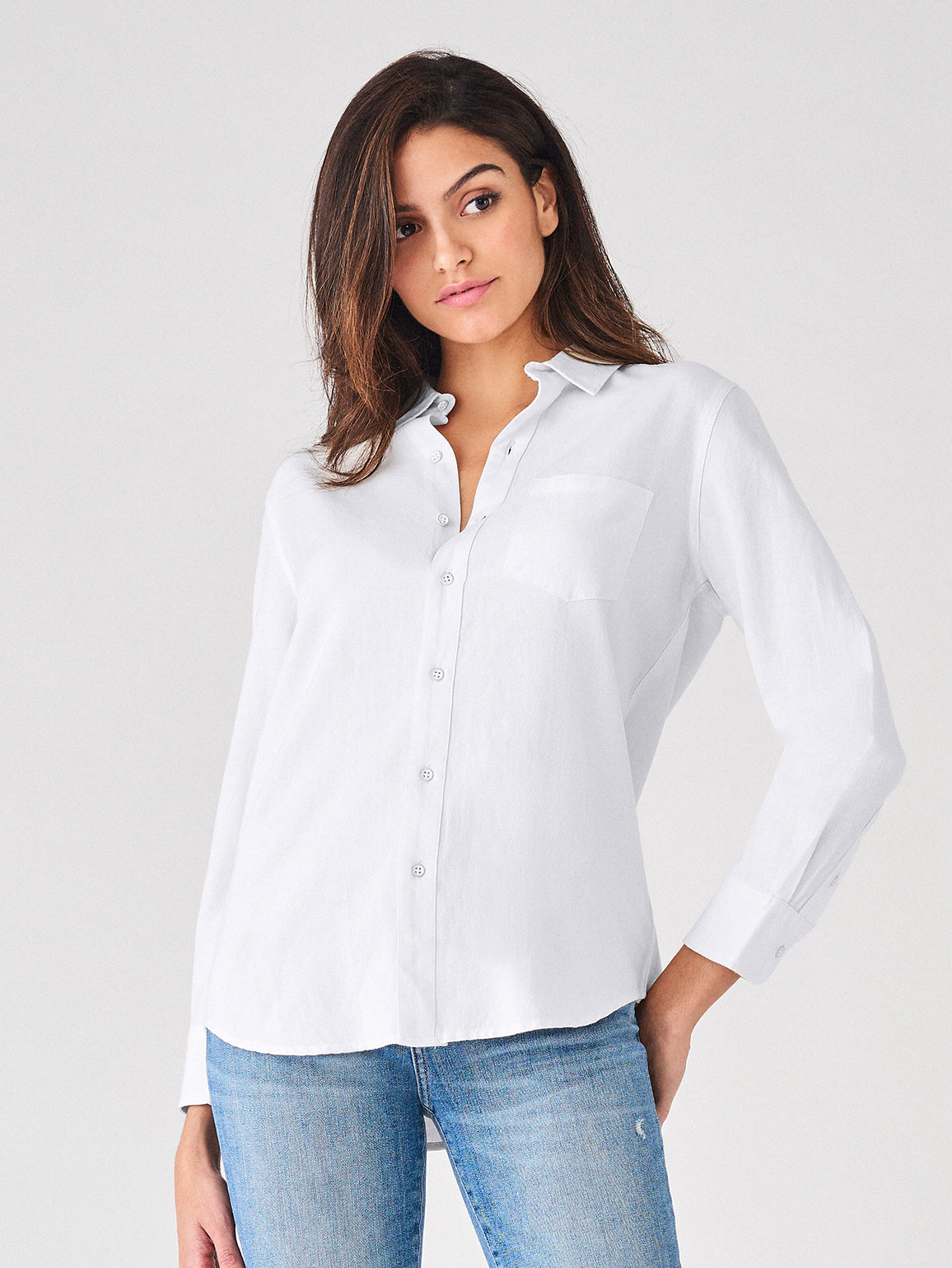 Nassau & Manhattan Top | White