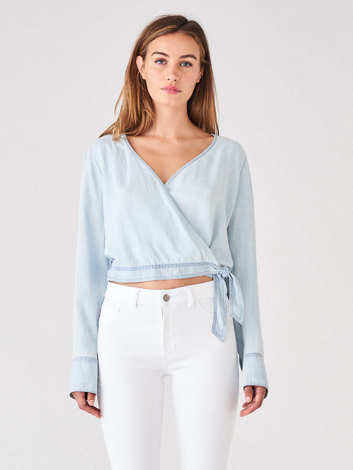 Cloisters Wrap Top | Bleach