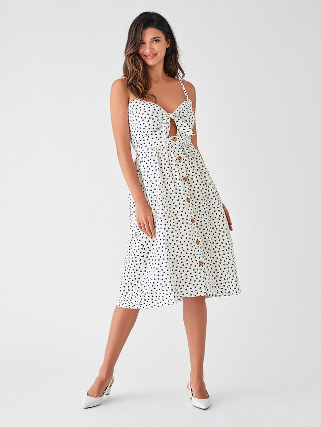 Prince St Dress | Polka Dot