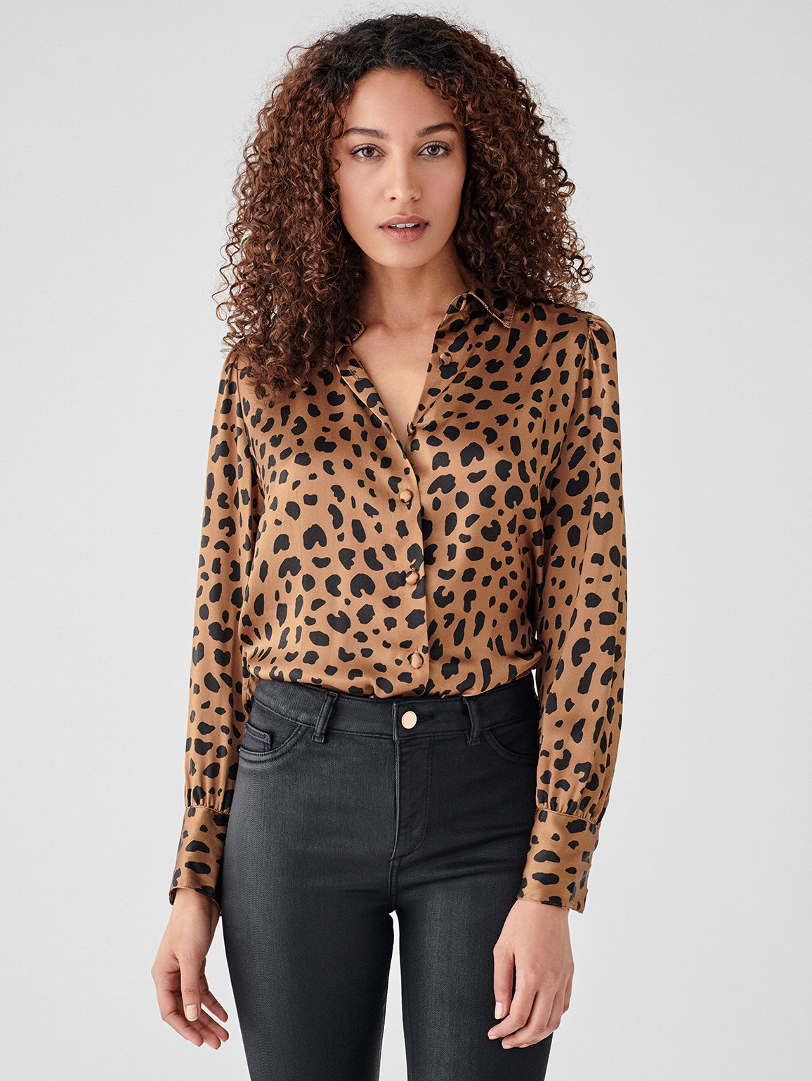 Chambers St Top | Leopard Print