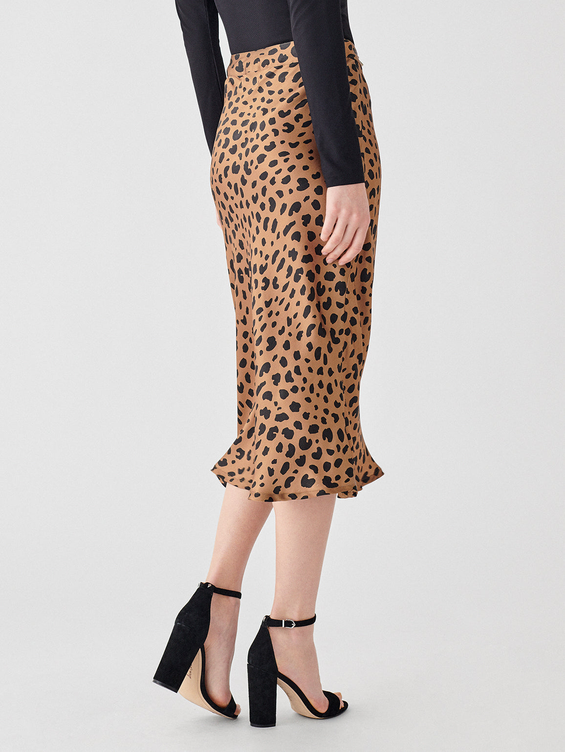 Bank St Skirt | Leopard Print