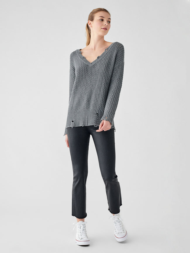 Freeman Alley Sweater | Dark Gray