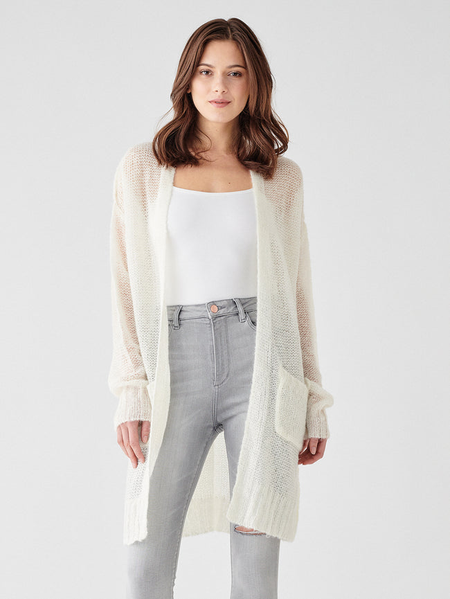 Saratoga Cardigan | Cream