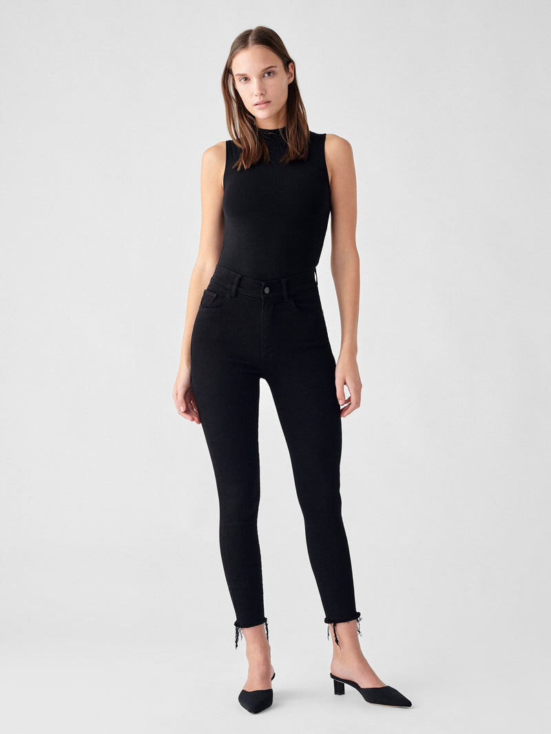 Farrow Skinny High Rise Instasculpt Crop | Kasson