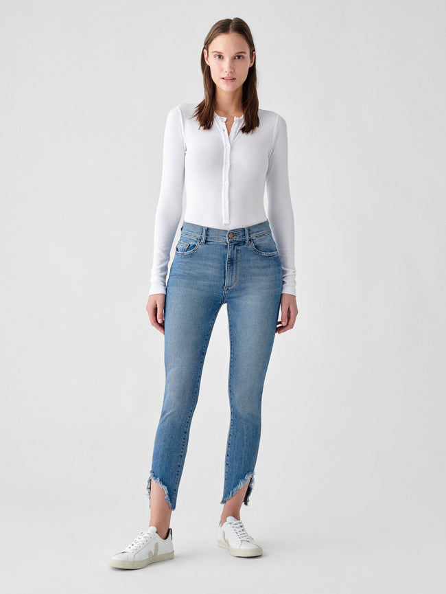 Farrow Ankle High Rise Ankle Skinny | Monterio