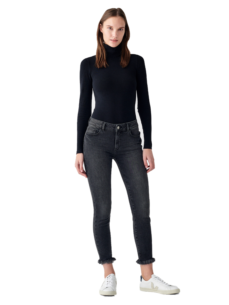 Florence Skinny Mid Rise Instasculpt Crop | Lyra