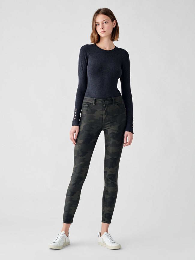 Florence Skinny Mid Rise Instasculpt Ankle | Carver