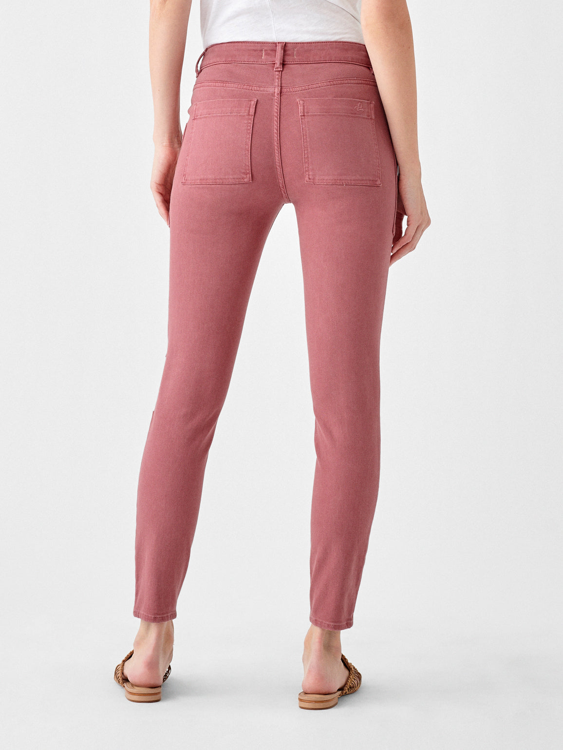 Florence Ankle Mid Rise Skinny | Canyon Rose