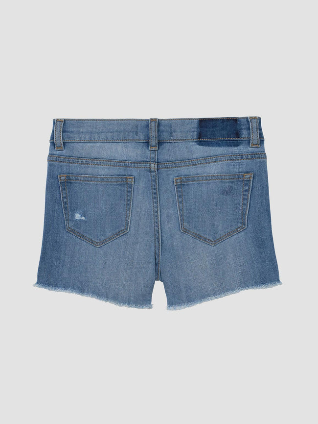 Lucy/G Short | Frost Distressed