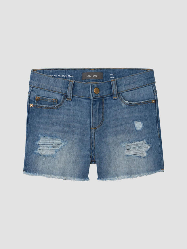 Lucy Short | Frost Distressed