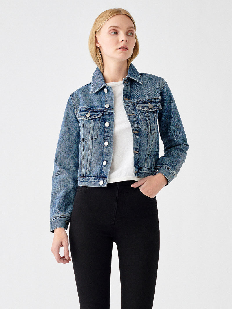 Jane Jacket Slim Jean | Milk