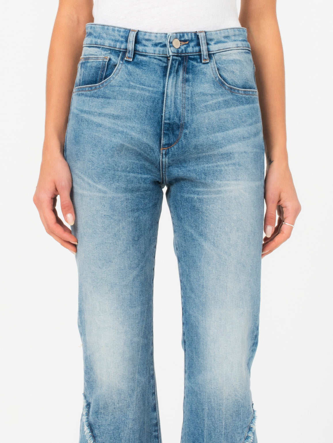 Wallace High Rise Vintage Crop Flare | Shakedown DL 1961 Denim