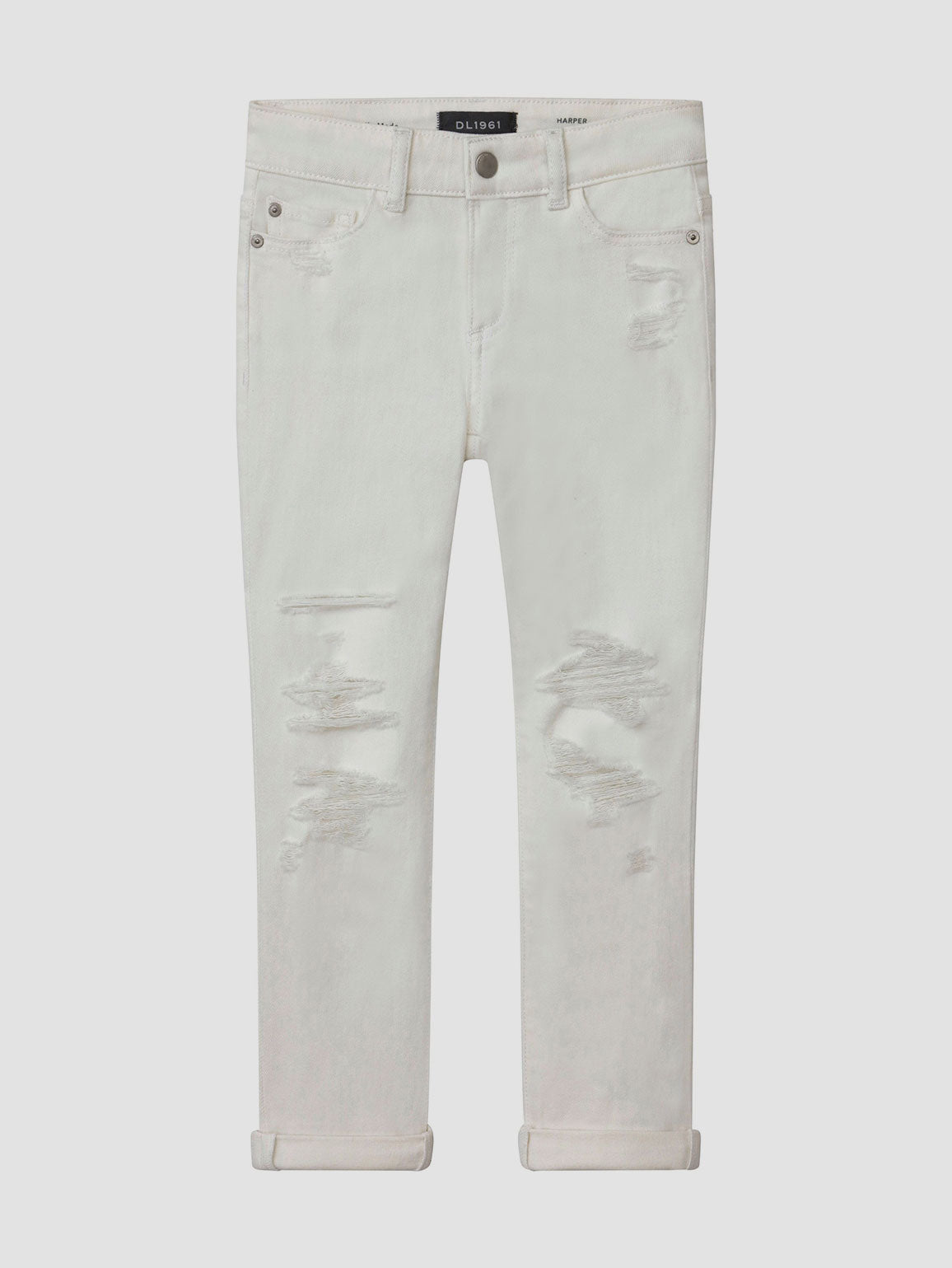 Harper/G Boyfriend | Milk Distressed