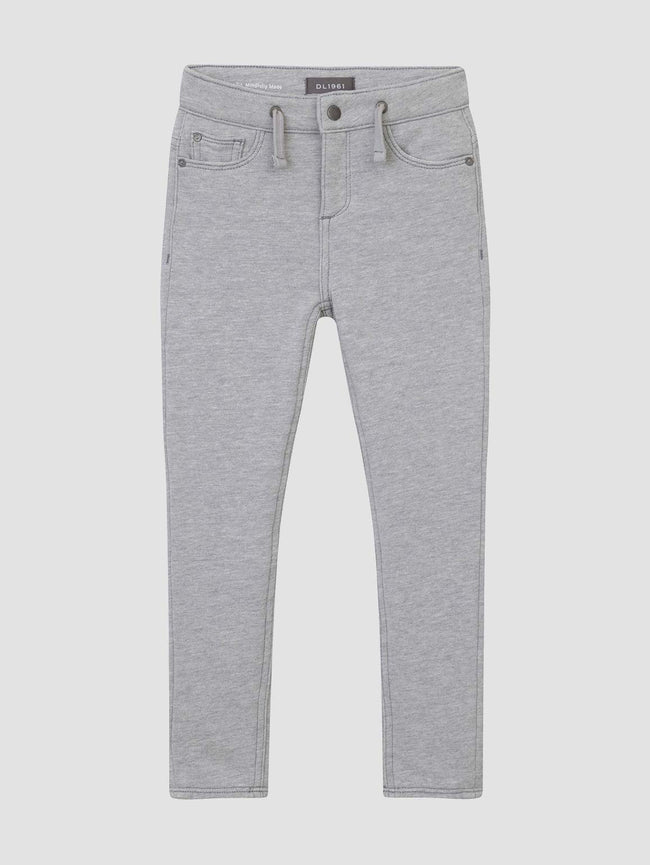 William/B Slouchy Slim | Heather Grey