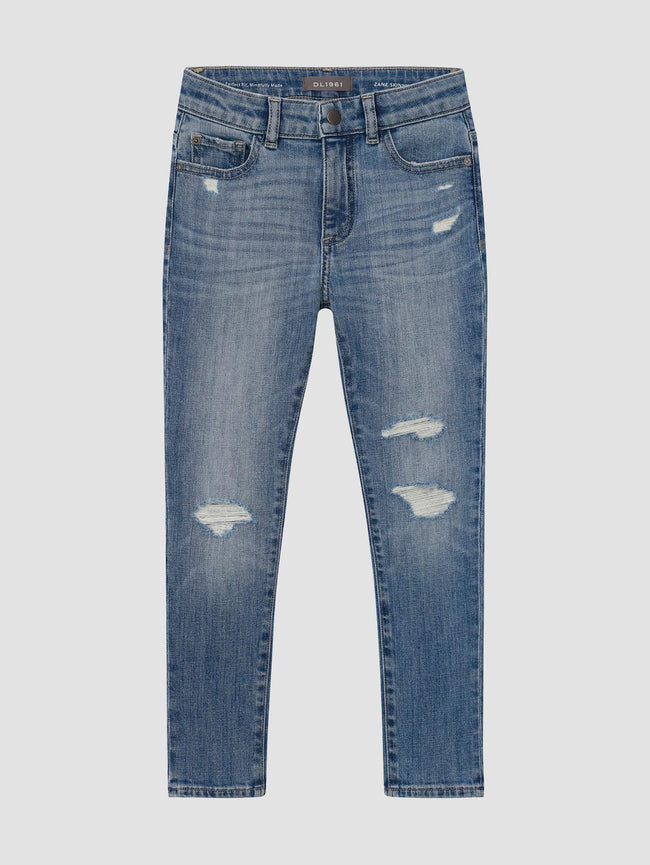 Zane/B Skinny | Splash Distressed